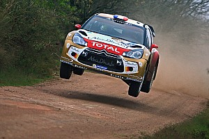 WRC Leg report Loeb and Hirvonen in the mix after Day 1 of Rally Aargentina