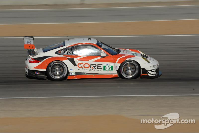 Long puts Porsche second on GT grid and Braun scores PC pole at Laguna Seca