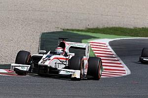 GP2 Race report Coletti dominates sprint race in Barcelona