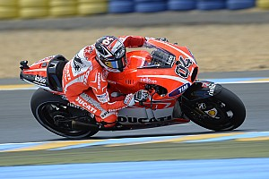 MotoGP Race report Convincing top-five finishes for Dovizioso, Hayden in French GP