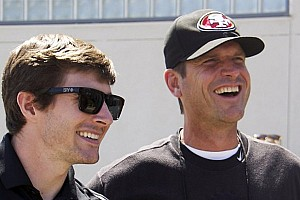 IndyCar Breaking news Panther owner Jim Harbaugh to drive Chevy pace car for 97th Indianapolis 500