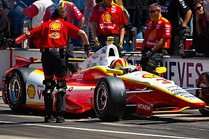 IndyCar Practice report Team Penske earns record 14th pit stop competition vyctory