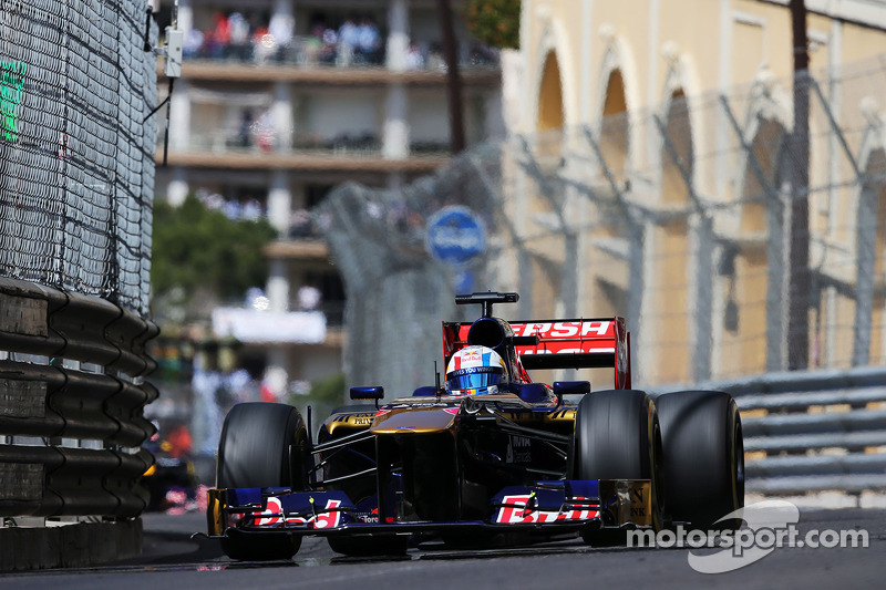 Toro Rosso's Vergne is top-10 on qualifying for Monaco GP
