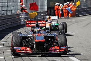 Formula 1 Race report Monaco watched a competitive McLaren