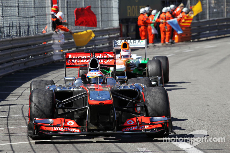 Monaco watched a competitive McLaren
