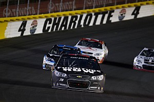 NASCAR Cup Race report Busch fights off adversity at Charlotte