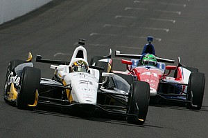IndyCar Race report Newgarden and SFHR finish 28th in 2013 Indy 500