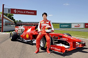 Formula 1 Breaking news Kobayashi tested Ferrari at Fiorano