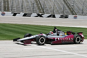 IndyCar Race report Jakes finished 12th and Rahal 21st at Texas Motor Speedway