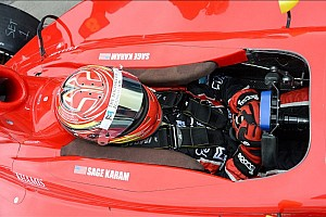 Indy Lights Race report Karam gets his maiden win on the Milwaukee Mile