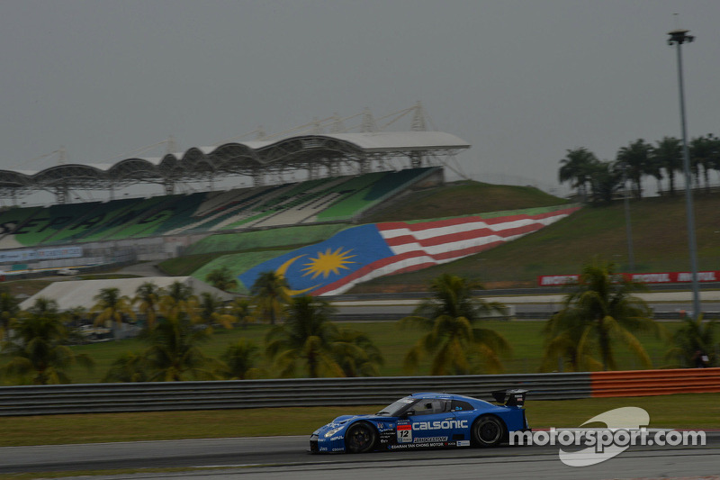 Matsuda and De Oliveira take their first 2013 victory in Malaysia