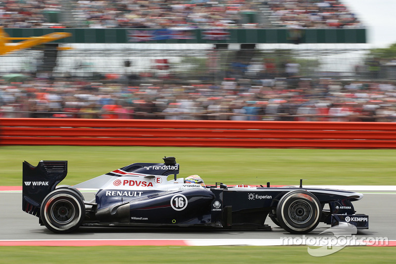 Maldonado qualified 16th with Bottas 17th for tomorrow's British GP