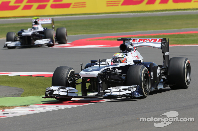 Williams F1 Team before German GP