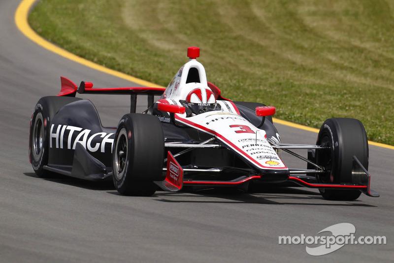 Team Penske completes strong Pocono open test on Thursday