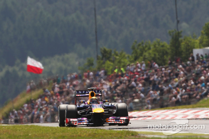 Strong Red Bull performance on qualifying for tomorrow's German GP