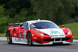 ALMS Race report Team West Alex Job Racing ninth at Lime Rock in GT