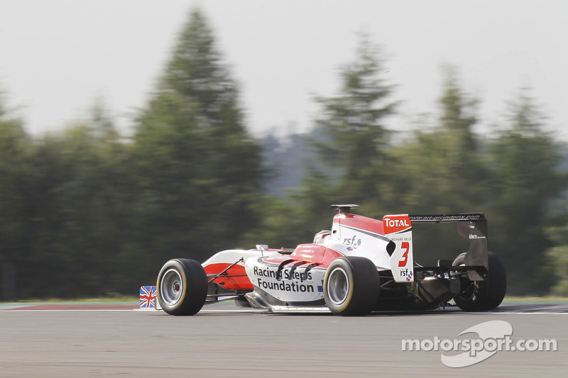 Podium finish at the Nurburgring moves Harvey up to fourth in the series standings