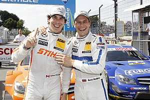 DTM Qualifying report Mercedes Junior Robert Wickens secures pole position at Norisring