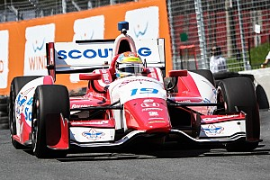 IndyCar Race report Justin Wilson finishes eighth in Toronto