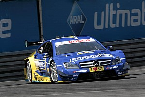 DTM Race report Rollercoaster of a race for Paffett at Norisring