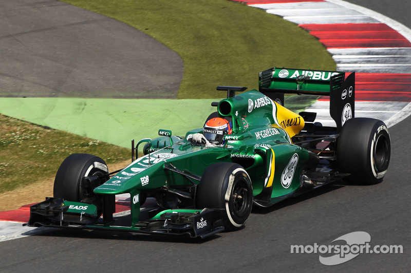 Alexander Rossi impresses at F1 test with Caterham