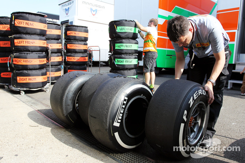Pirelli announces tyre nominations for Spa, Monza and Singapore