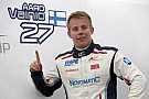 Vainio scorches to pole in Budapest
