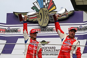 Grand-Am Race report Carter and Plumb Brickyard Sport Car Challenge review
