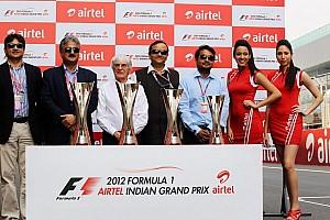 Formula 1 Breaking news Organiser admits no Indian Grand Prix in 2014