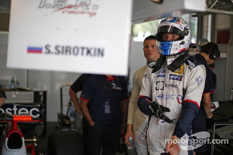 No test debut for Sirotkin until 2014