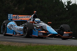 IndyCar Qualifying report 24th place on starting grid for Luca Filippi at Mid-Ohio