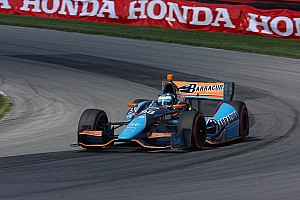 IndyCar Race report Filippi finishes 16th in series debut at Mid-Ohio