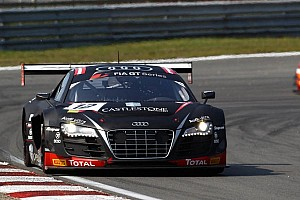 Blancpain Sprint Qualifying report Fast Rast is 'pole king' in Slovakia for Audi