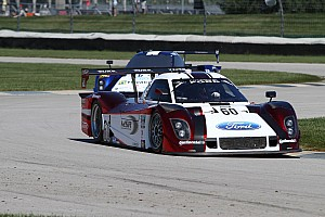 Grand-Am Race report Yacaman leads as Negri and Pew take podium in Kansas