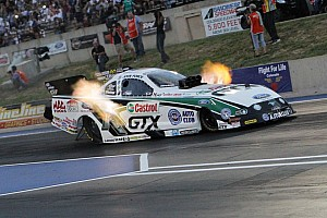 NHRA Race report John and Courtney Force clinch countdown spots at Brainerd