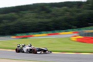 Formula 1 Qualifying report Sauber's Hulkenberg almost in Q3 at Spa-Francorchamps