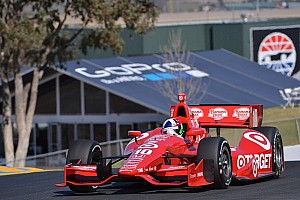 IndyCar Qualifying report Dario Franchitti takes his third Sonoma pole