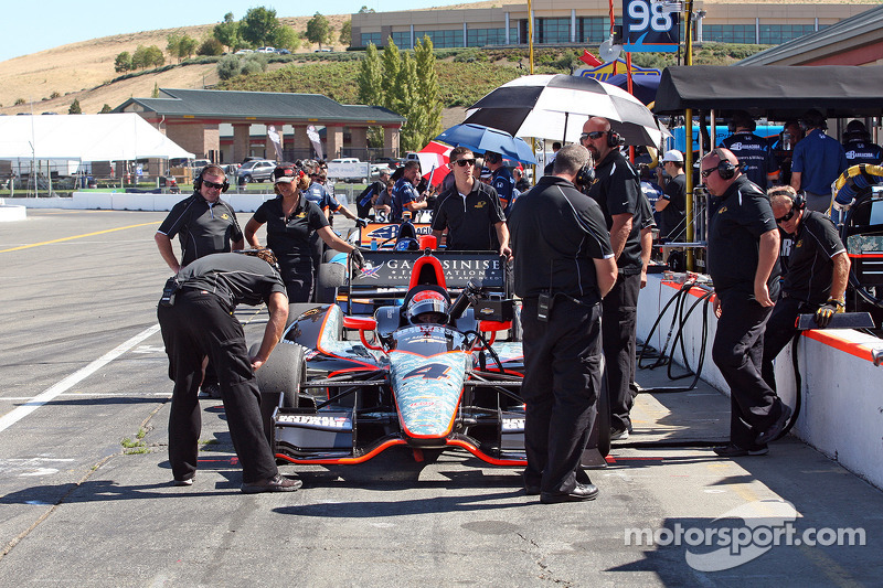 Briscoe slated to start 22nd today at Sonoma