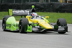 IndyCar Practice report Vautier paces opening practice for Grand Prix of Baltimore