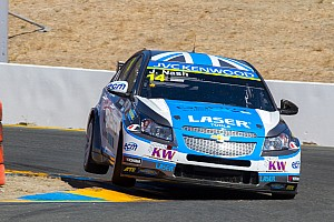 WTCC Race report Nash scored an Independent podium finish at Sonoma