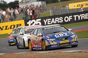 BTCC Race report Jordan moves to championship summit after double victory at Rockingham