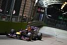 Vettel still in control in final practice in Singapore