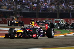 Formula 1 Race report Vettel win and Webber caught fire in Singapore