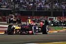 Vettel win and Webber caught fire in Singapore