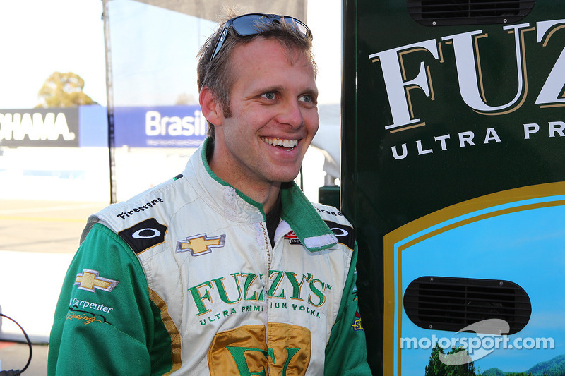 Ed Carpenter back at Fontana Tuesday for testing in preparation of MAVTV 500 October 19