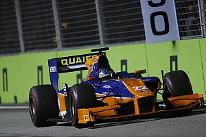 GP2 Race report Quaife-Hobbs nets further points in Singapore