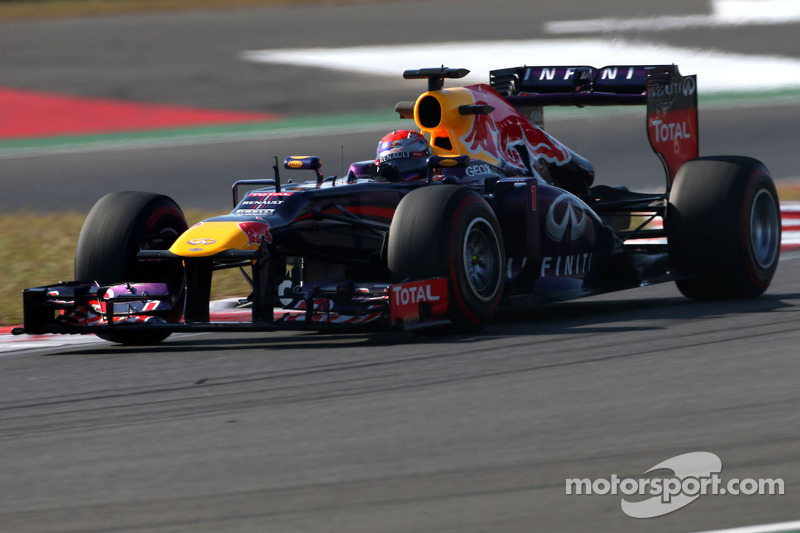 Red Bull second and fourth on Friday practice for the Korean GP
