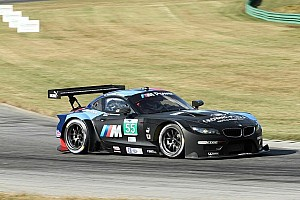 ALMS Qualifying report Martin scores third straight GT Pole for BMW Team RLL