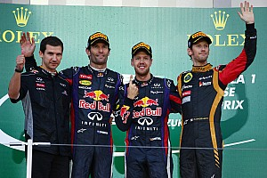Formula 1 Race report Magic number is '5' for Vettel