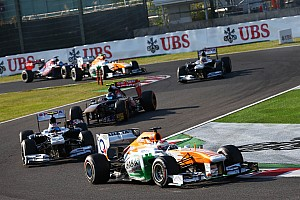 Formula 1 Race report Sahara Force India narrowly missed out on points at Suzuka
